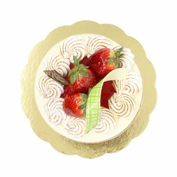 Brunetti Mixed Berry Charlotte Cake - Top
