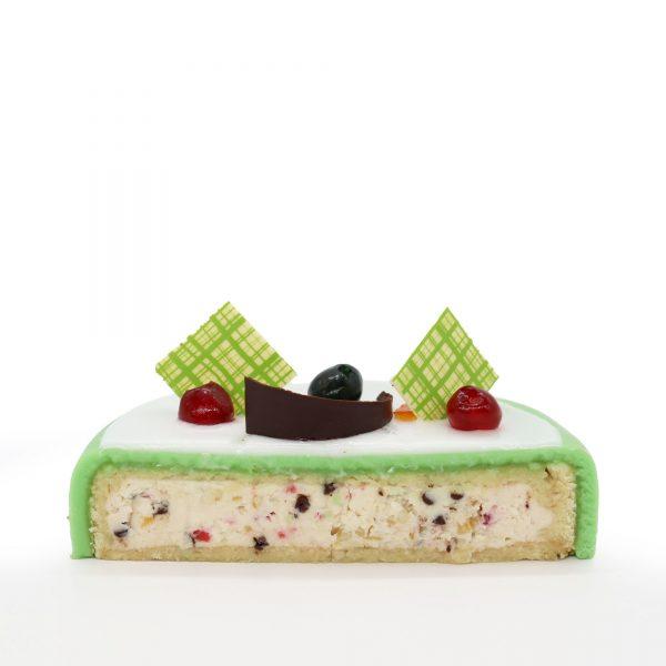 Brunetti Cassata Siciliana Cake - Cross section