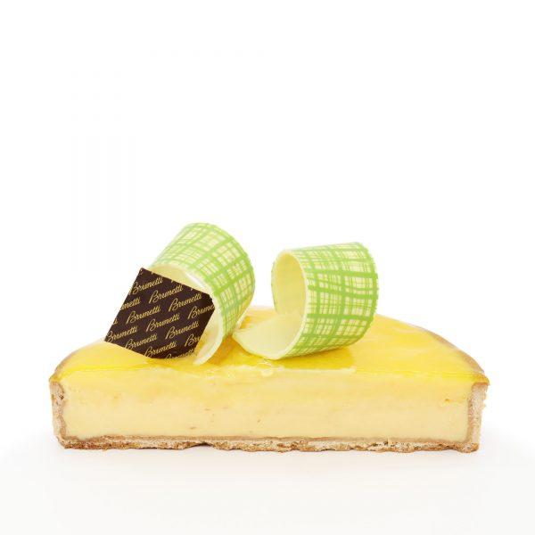 Brunetti Lemon Tart Cake - Cross section