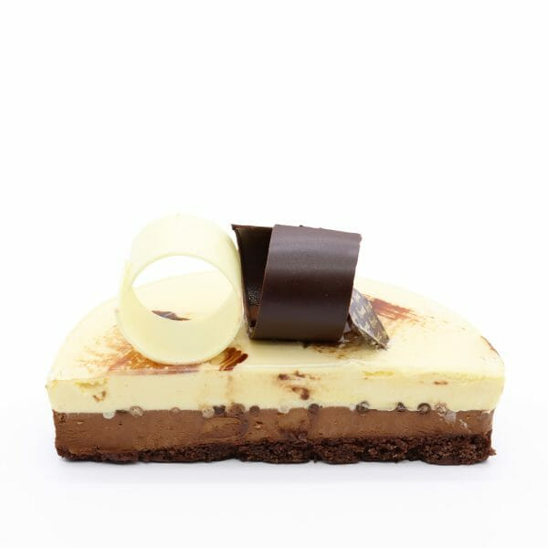 Brunetti Chocolate Mousse Cake - Cross section