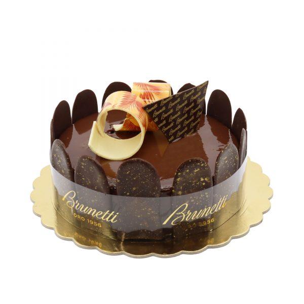 Brunetti Chocolate Mud Cake - Side