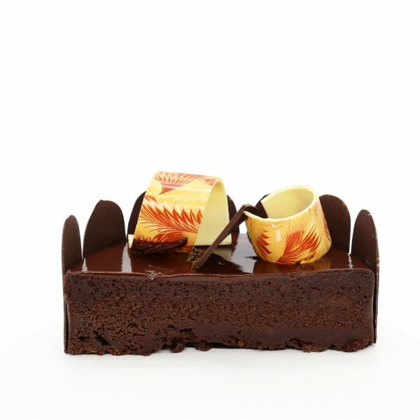 Brunetti Chocolate Mud Cake - Cross section