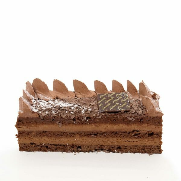 Brunetti Chocolate Souffle Cake - Cross section