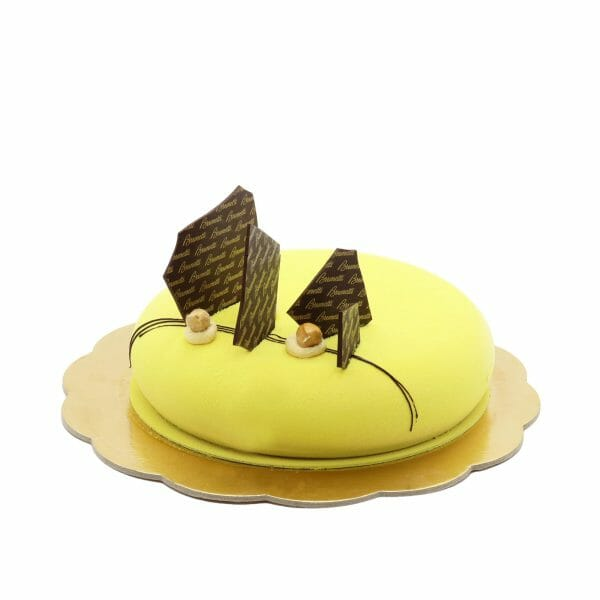 Brunetti Hazelnut & Zabaglione Torte Cake - Side