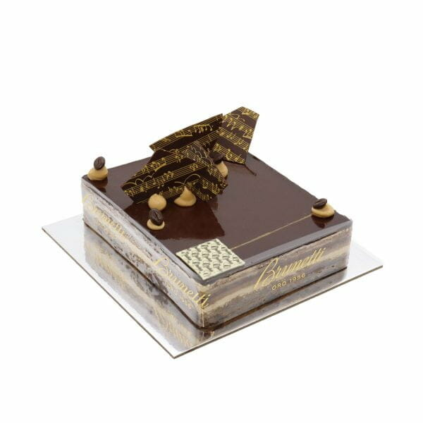 Brunetti Opera Cake - Side
