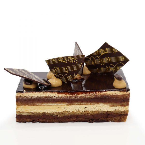 Brunetti Opera Cake - Cross section
